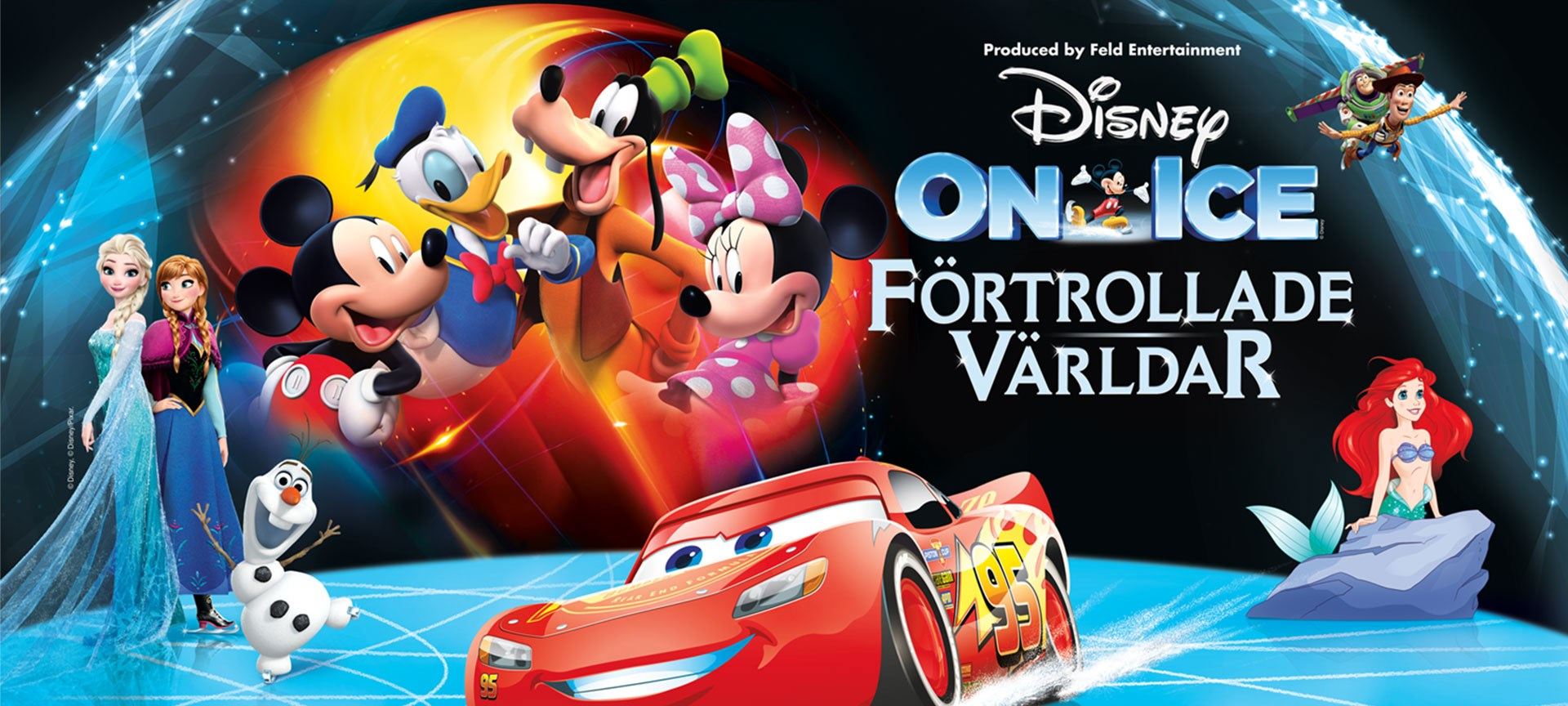 DISNEY ON ICE - Förtrollande Världar