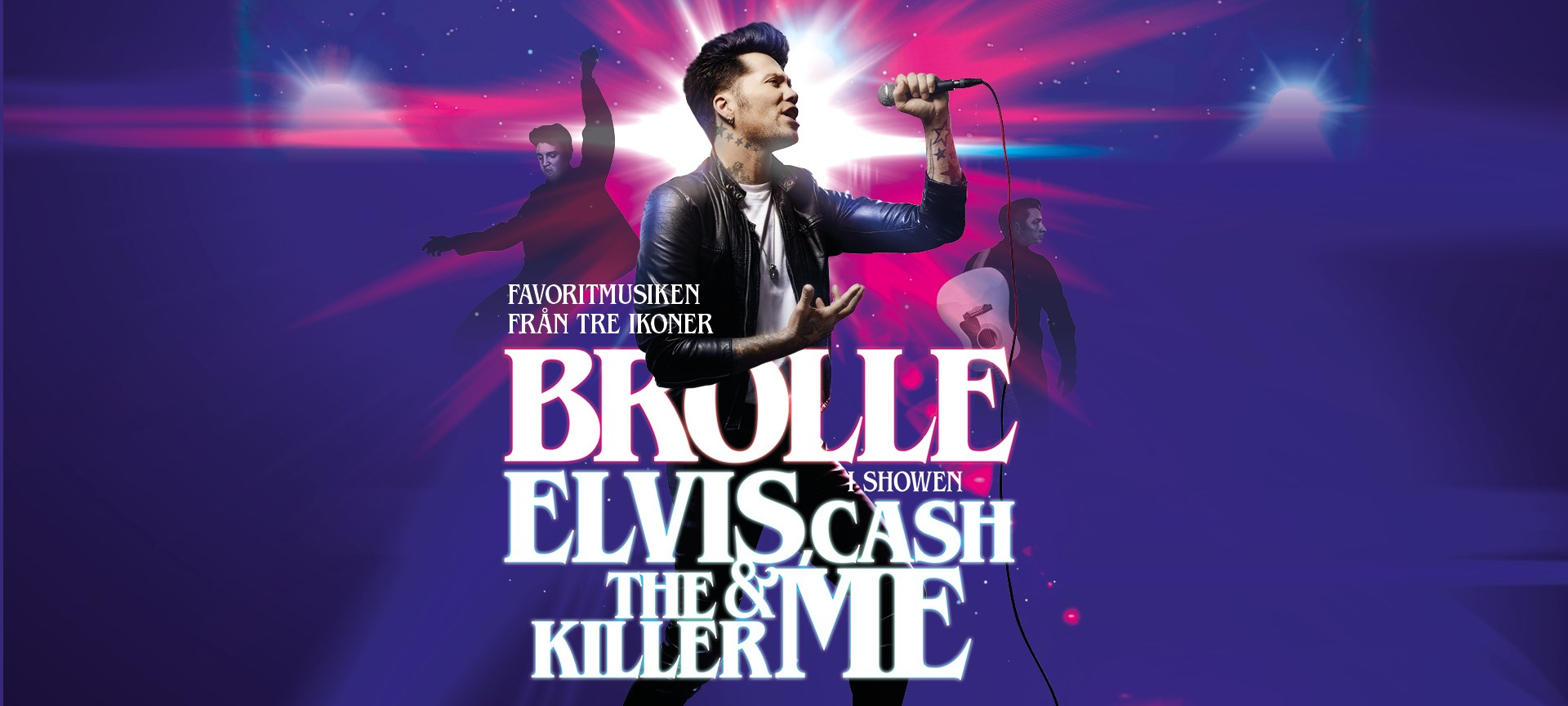 Brolle - ELVIS, CASH, THE KILLER & ME