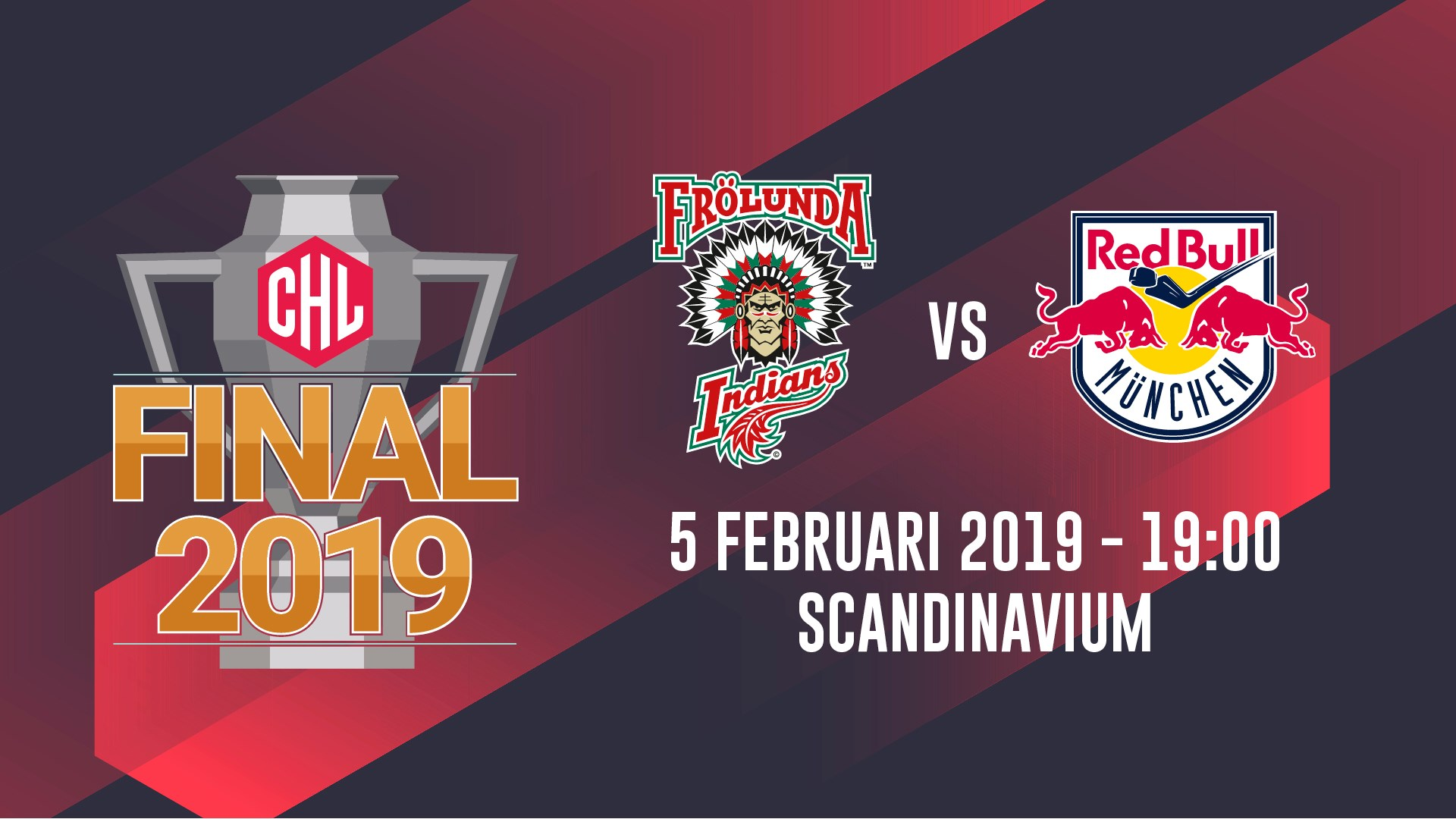 Frölunda vs Red Bull München - CHL Final